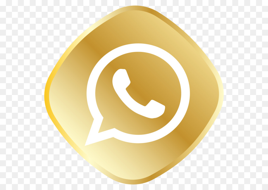 whatsapp icon png gold clipart WhatsApp Internet