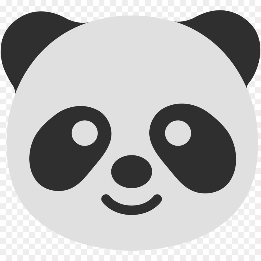 Love Black And White Clipart Bear Face Black