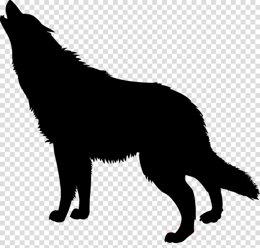 wolf dog silhouette clipart German Shepherd Clip art