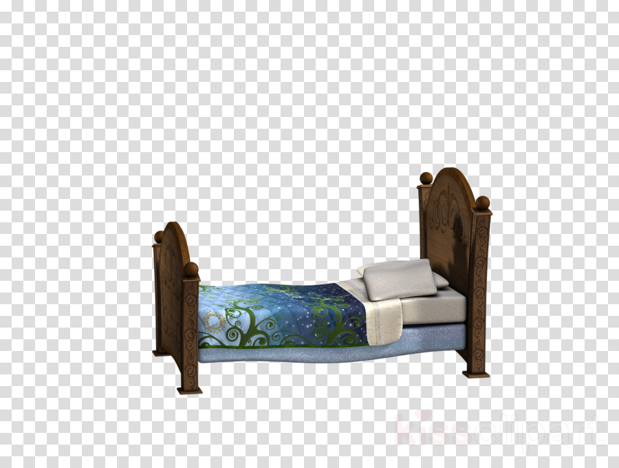 Bed clipart Bed frame Bed size
