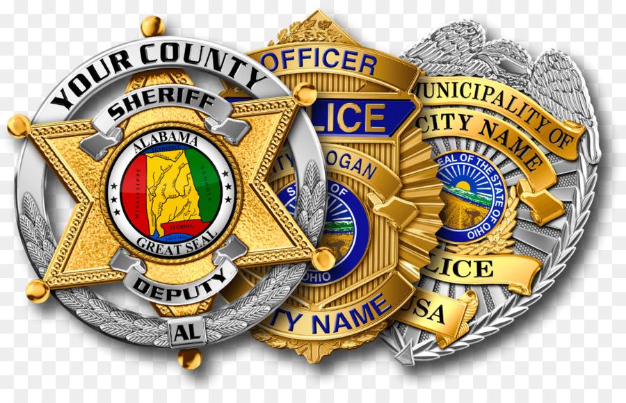 Police badge sheriff. Gold badgetransparent png image
