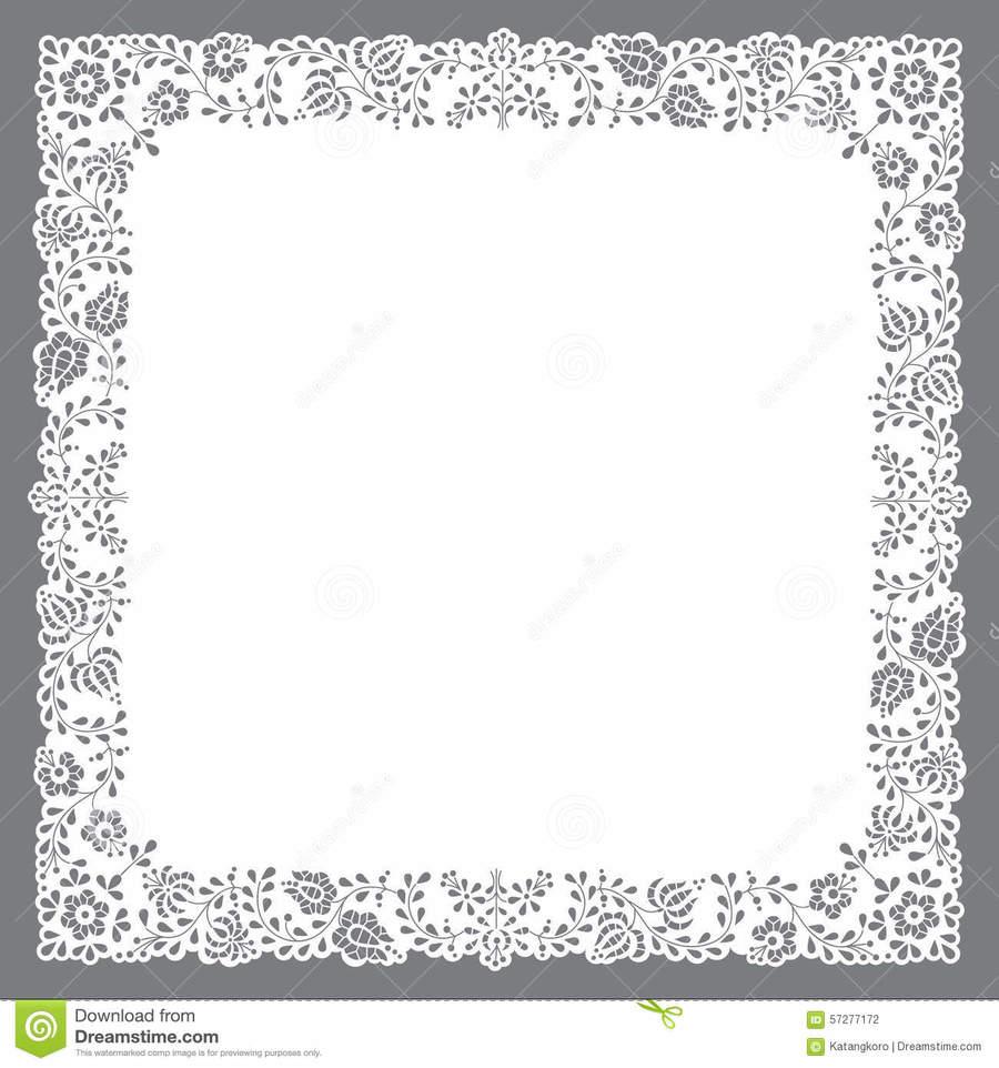 Download Doily Square Clipart Paper Doilies Pattern Doyleys