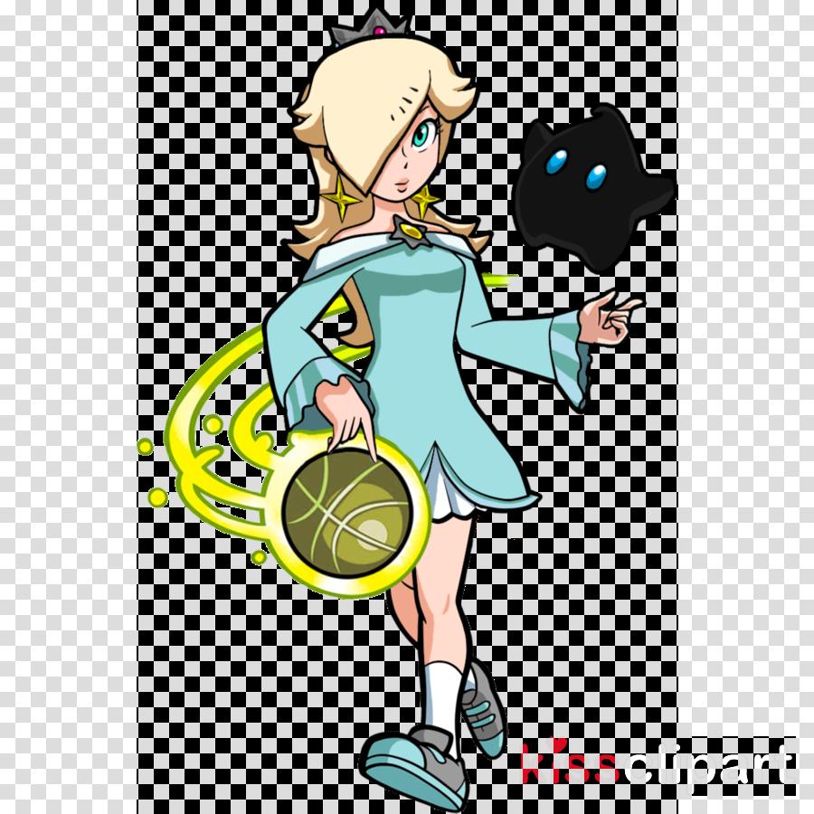 mario hoops 3 on 3 clipart Mario Hoops 3-on-3 Rosalina Princess Peach