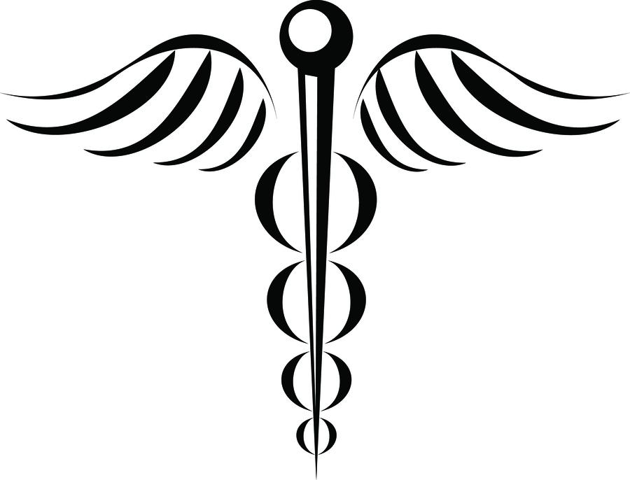 Download Medical Symbol Tattoo Clipart Tattoo Staff Of Hermes