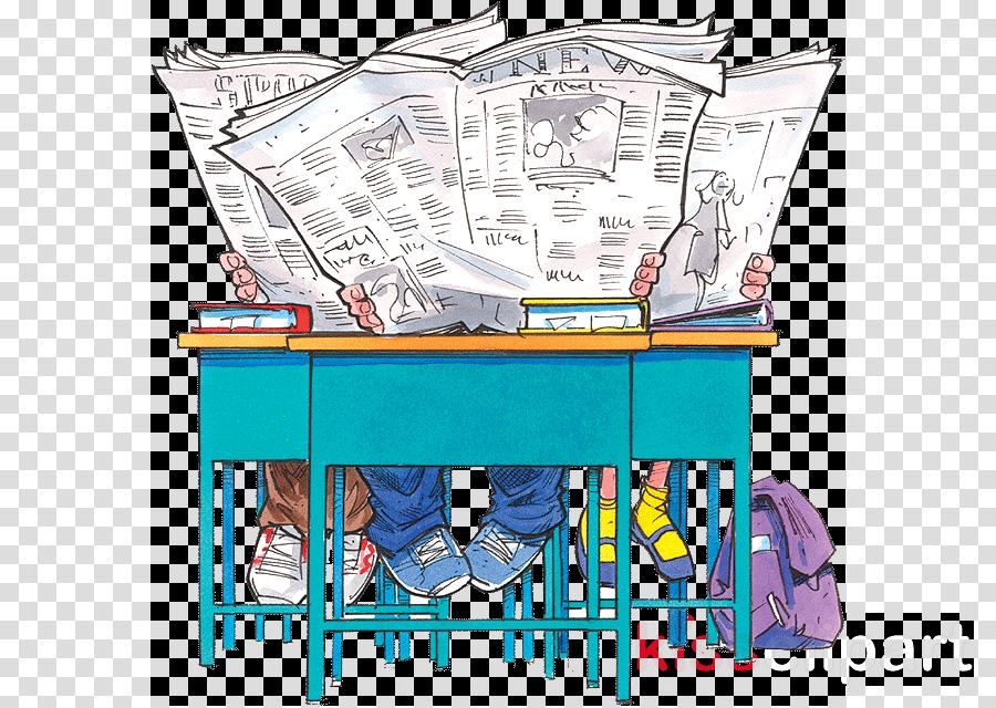 kids read newspaper clipart Newspaper Child