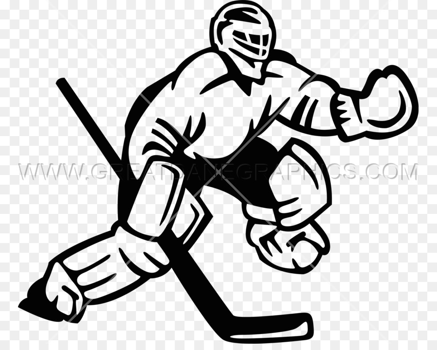 Hockey White Black Transparent Image Clipart Free Download