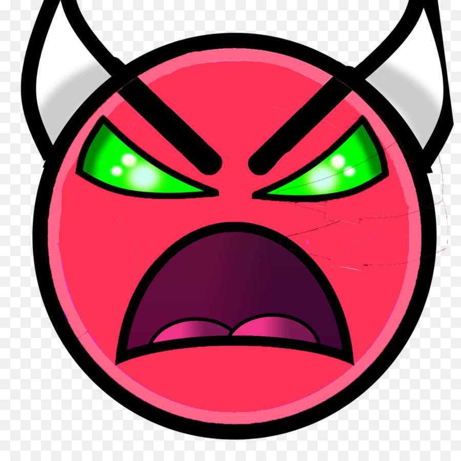 Geometry Dash clipart Geometry Dash Face
