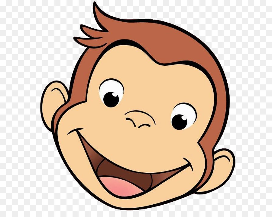 curious george face png clipart Curious George Clip art