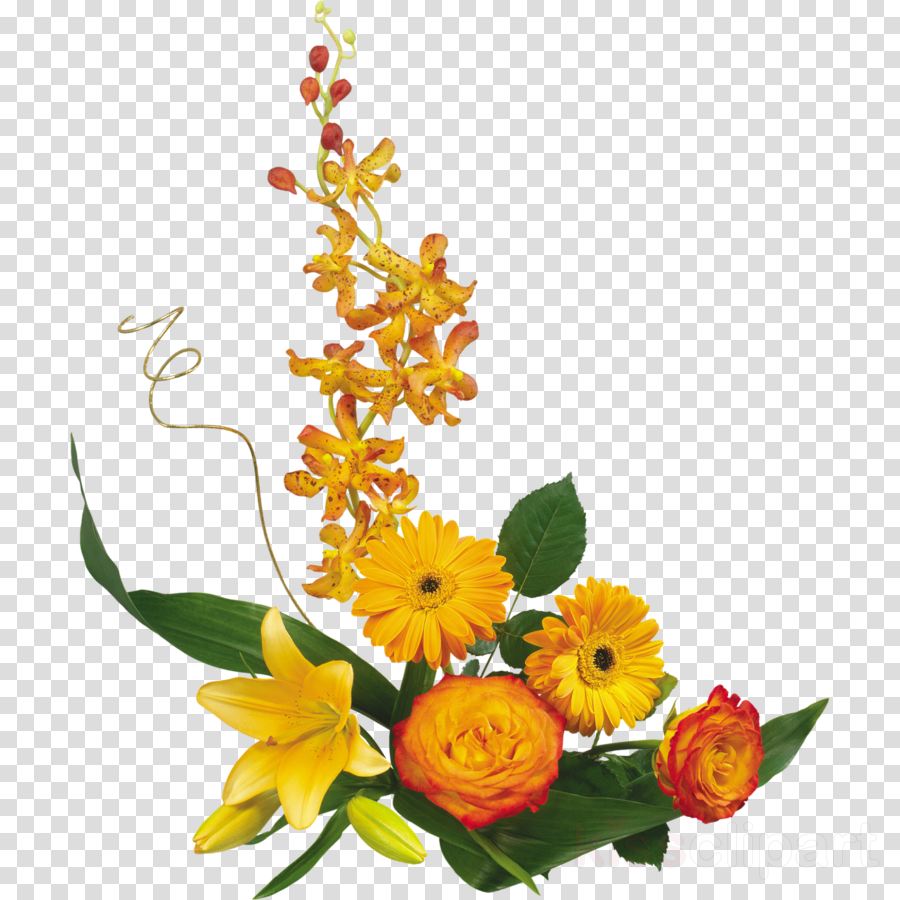 fleur d automne dessin clipart Flower bouquet Autumn
