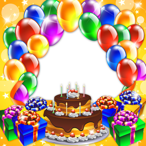 happy birthday photo frames editing clipart Birthday Picture Frames Wish