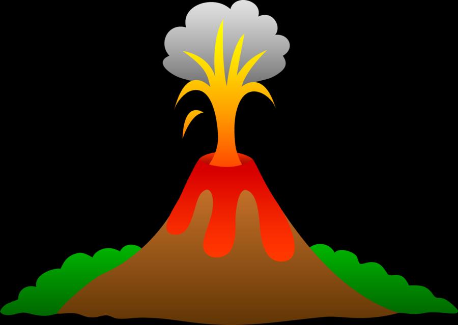 Volcano Cartoon