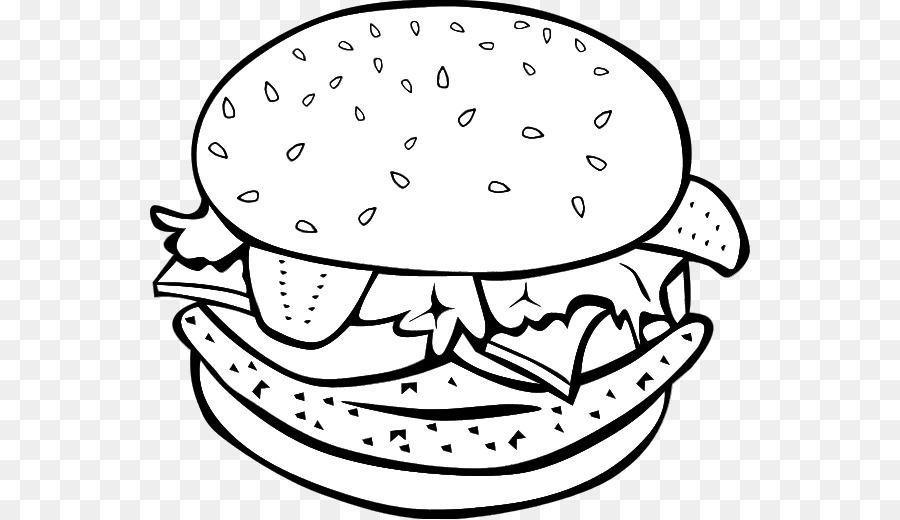 Hamburger Drawing Food Transparent Image Clipart Free Download