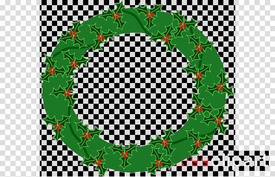 evergreen wreath png clipart Wreath Christmas decoration Clip art
