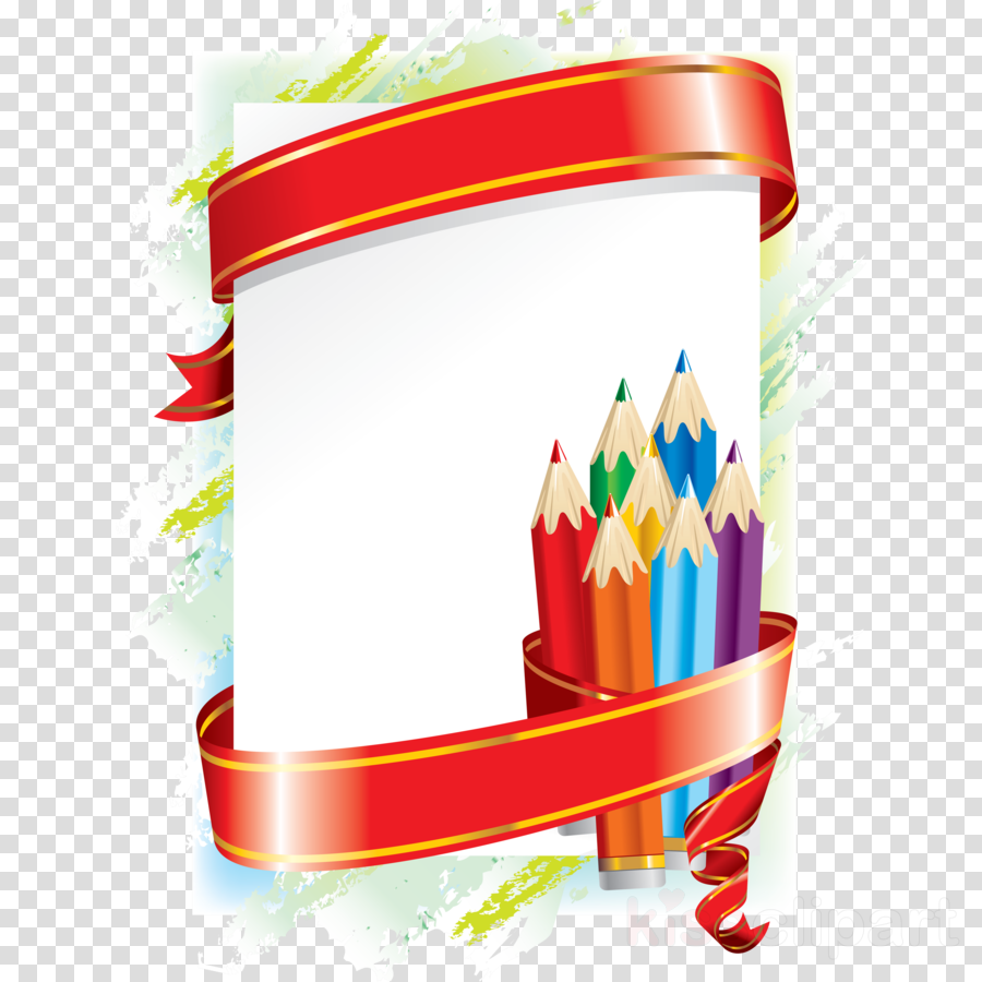 school supplies borders and frames clipart Borders and Frames School Clip art