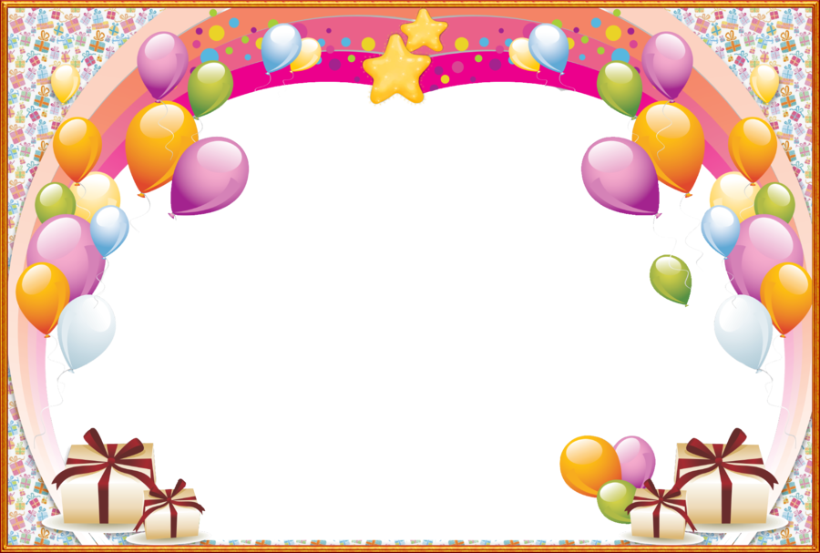 birthday png frame clipart Birthday Picture Frames