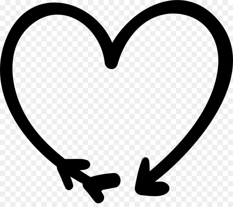 Love Black And White clipart - Heart, Love, Circle