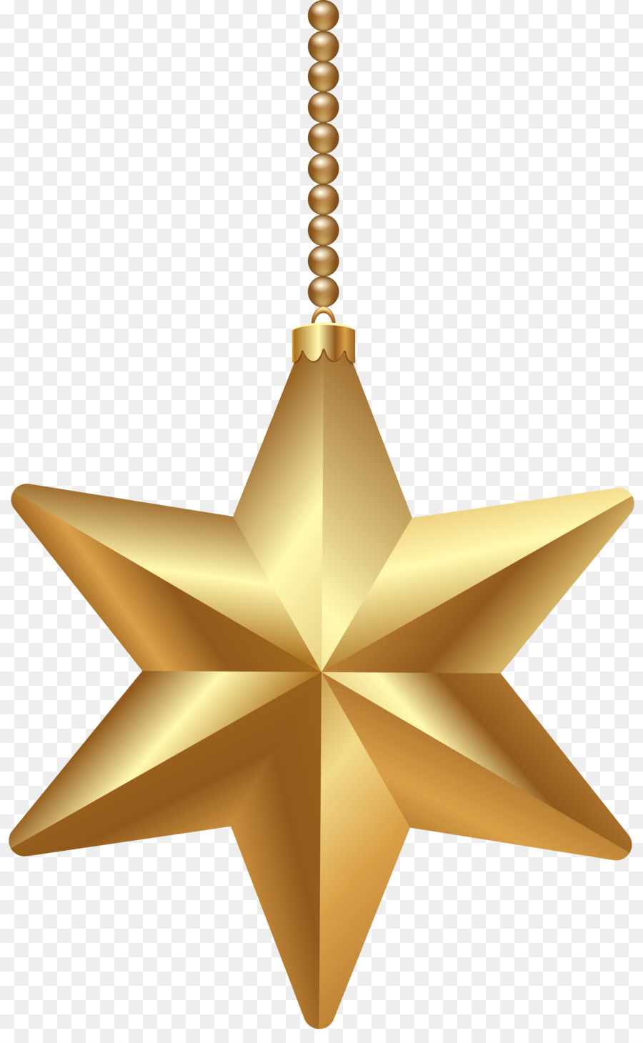 Christmas Chain Clipart.Gold Christmas Tree Clipart Star Gold Transparent Clip Art