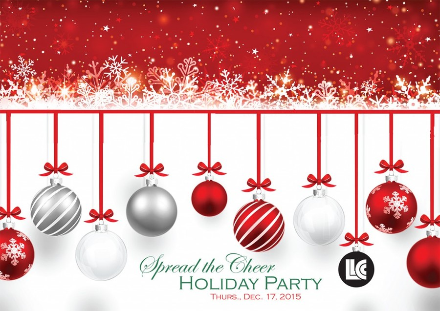 holiday party red christmas text event png clipart free download