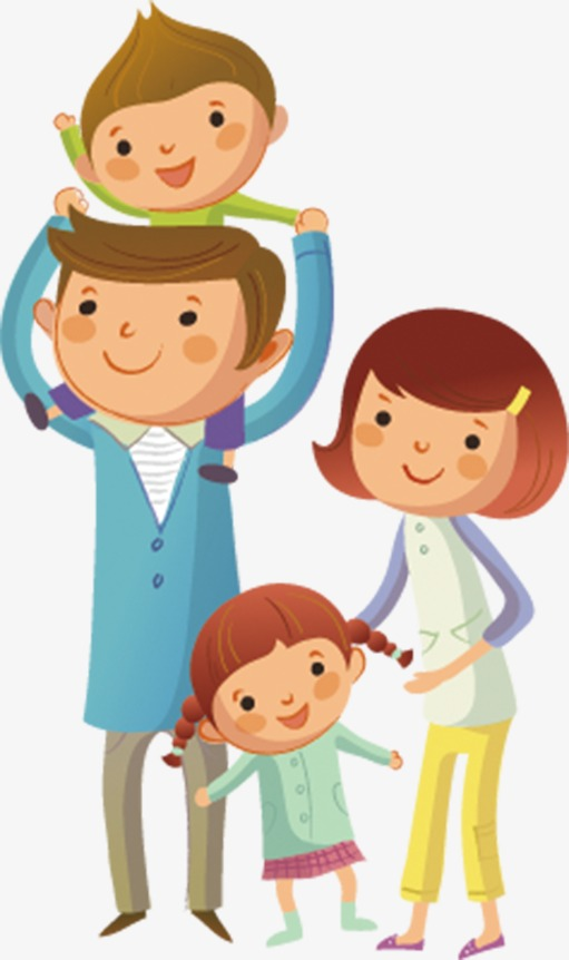 family love cartoon png clipart Family Clip art