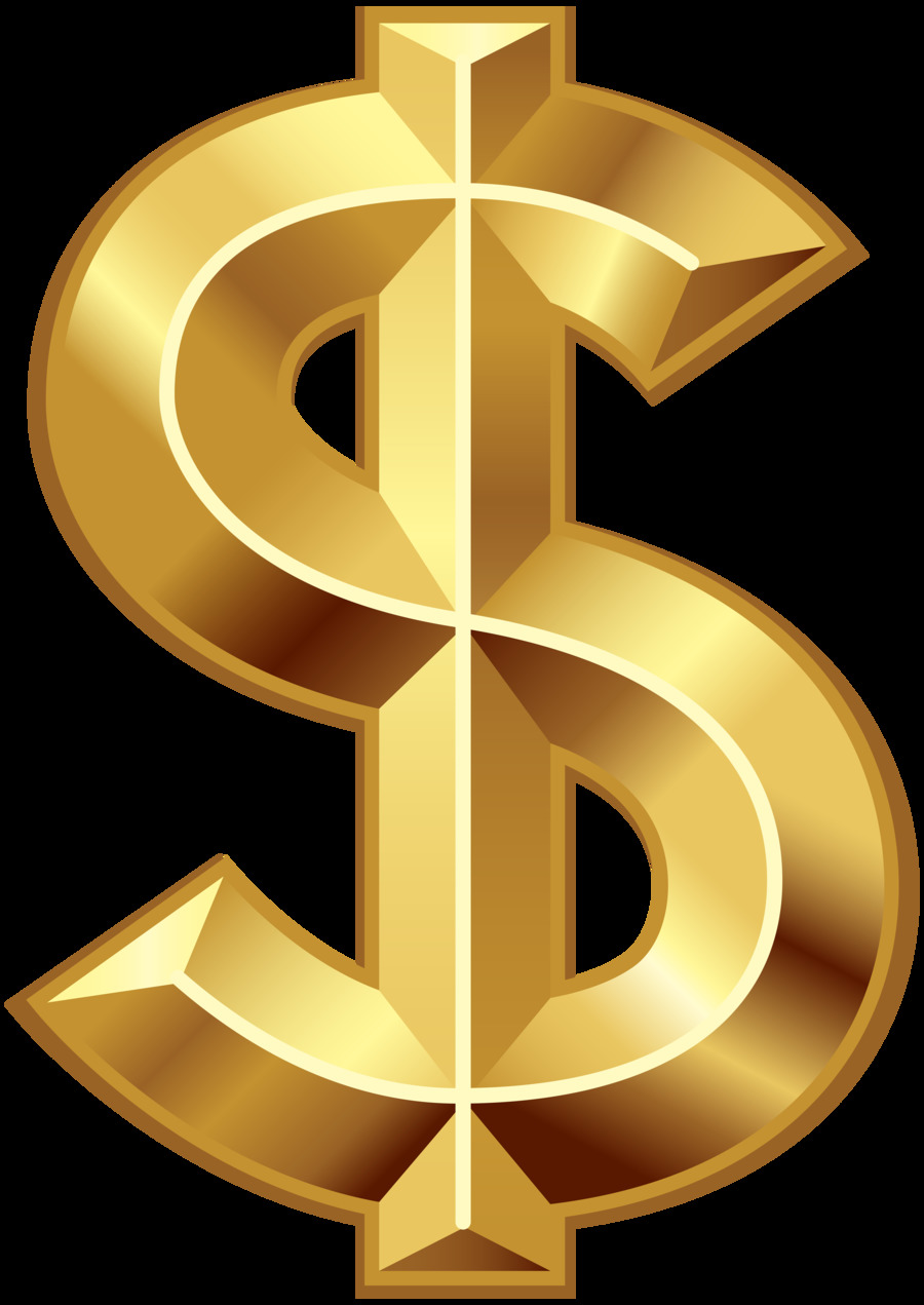 Download Gold Dollar Sign Clipart Dollar Sign Gold United States