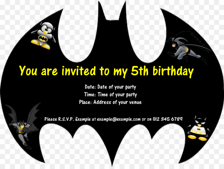 Batman Birthday Invitation Templates Clipart Wedding Party