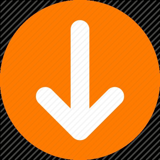 Circle Background Arrow clipart - Arrow, Orange, Yellow