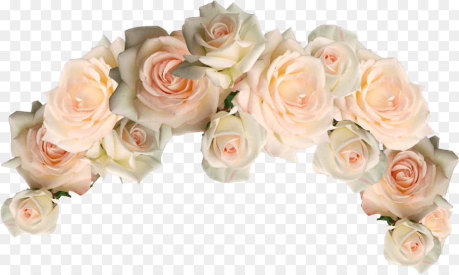 Flower crown wedding. Bouquet clipart rose transparent