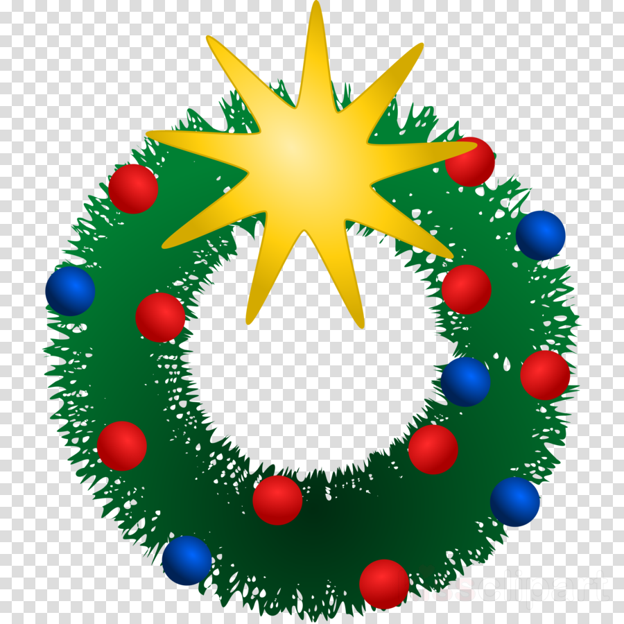 Wreath Christmas Circle Transparent Png Image Clipart Free Download
