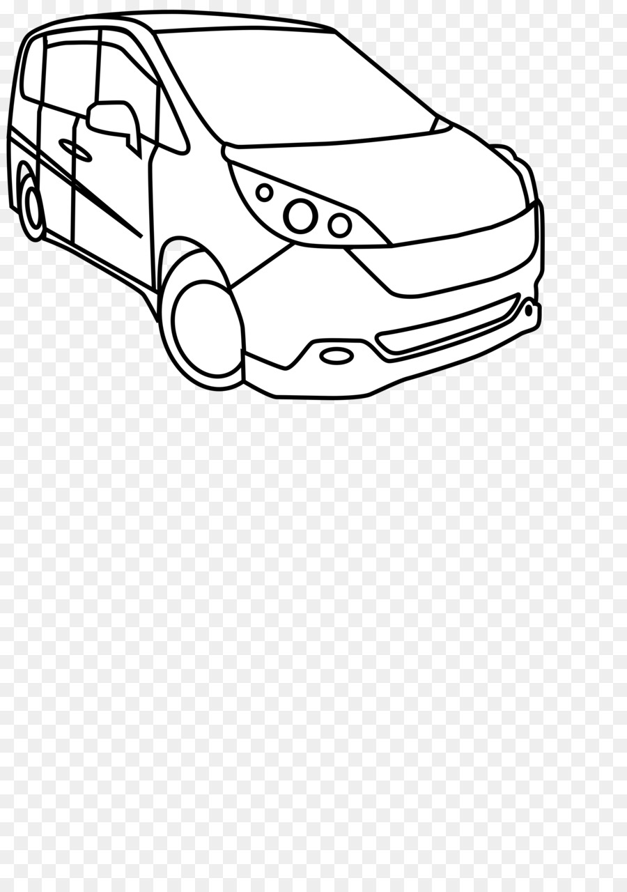 Car Cartoon Clipart Car Minivan Van Transparent Clip Art