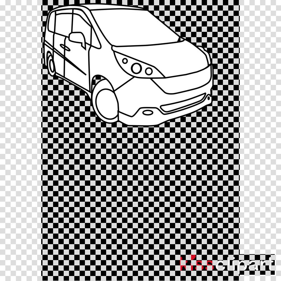 Download Auto Malvorlage Clipart Car Minivan Clip Art