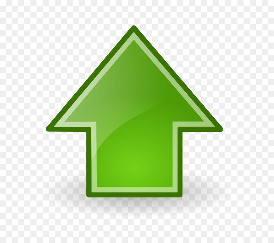 green arrow up vector clipart Green Arrow