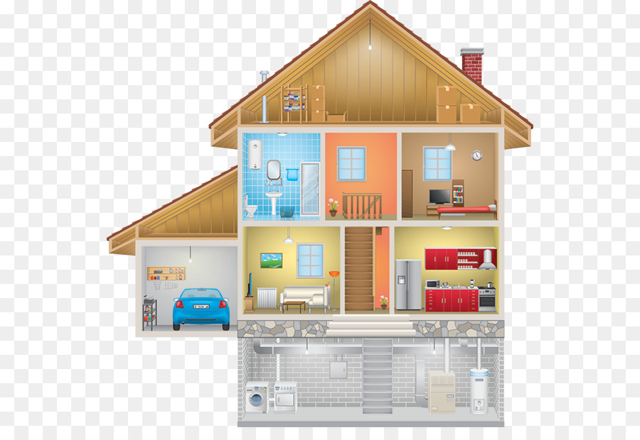 Real Estate Background clipart - House, Room, Home