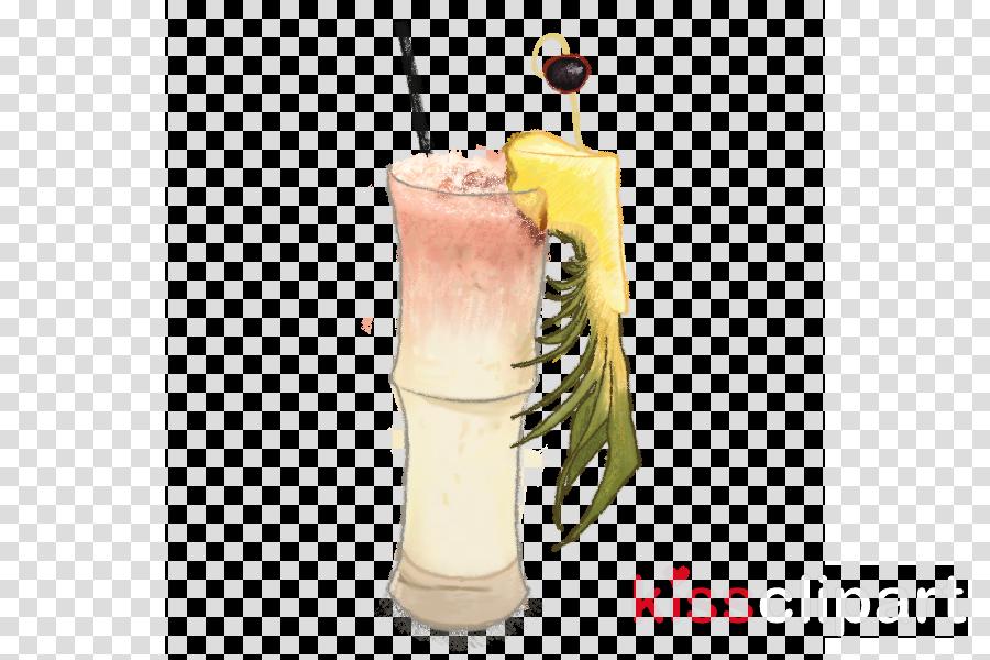 cocktail garnish clipart Cocktail garnish Piña colada