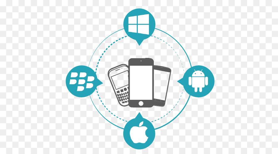 hybrid mobile app development clipart Mobile app development