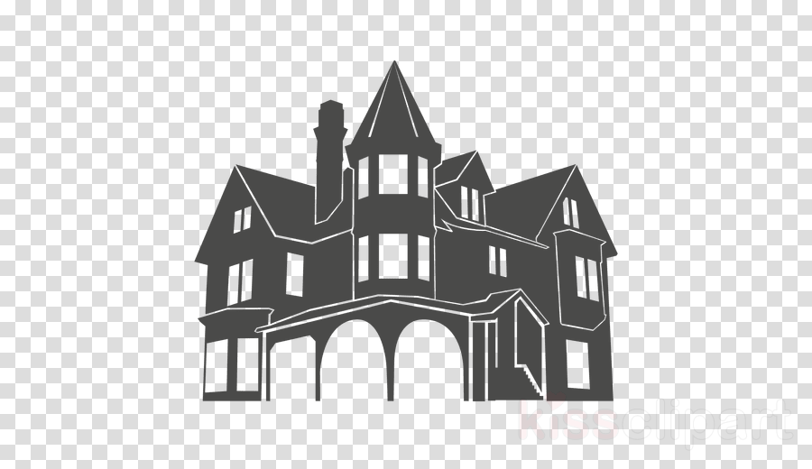 house silhouette transparent clipart House