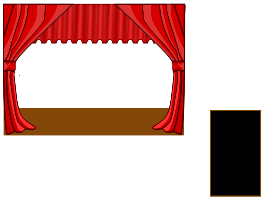 Red Background Frame