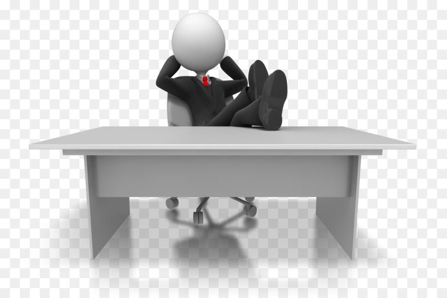 relaxing desk clipart Desk Businessperson Clip art