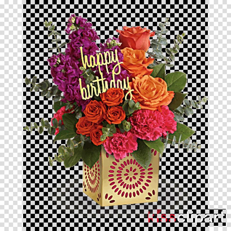 Birthday Flowers Clipart Floristry Flower