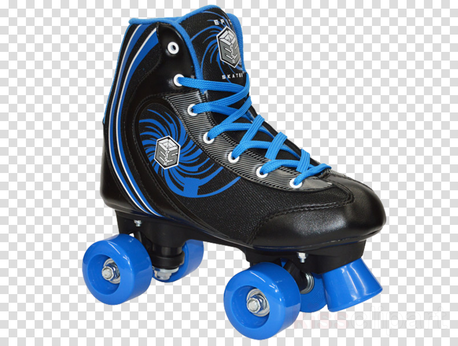 epic rock candy quad speed roller skates, black clipart Quad skates Roller skating Ice Skates
