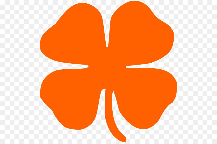 orange clover clip art clipart Shamrock Clip art