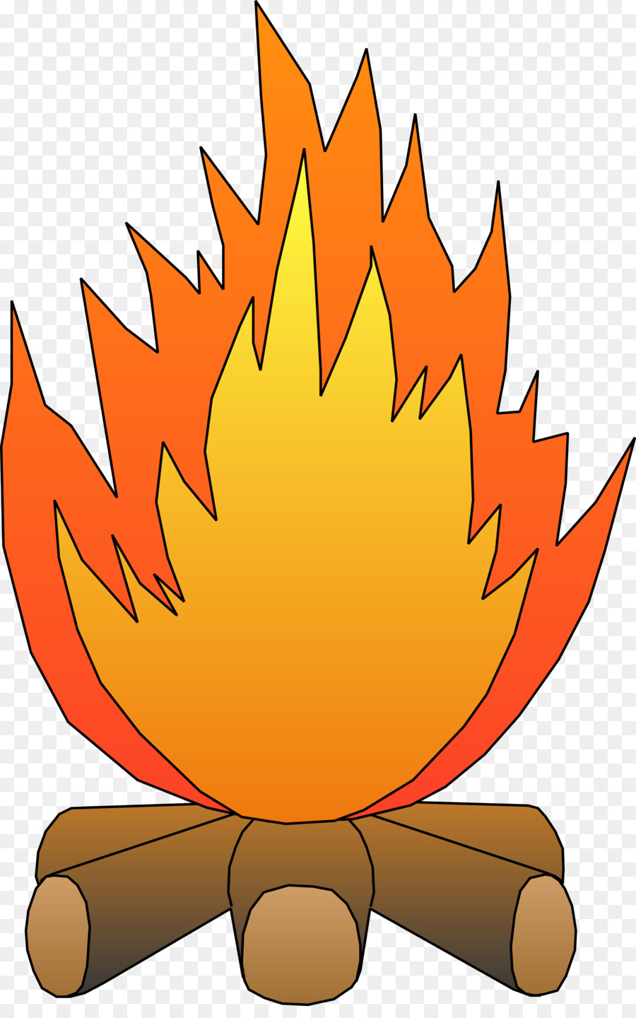 Fire Cartoon clipart - Fire, Leaf, Orange, transparent clip art
