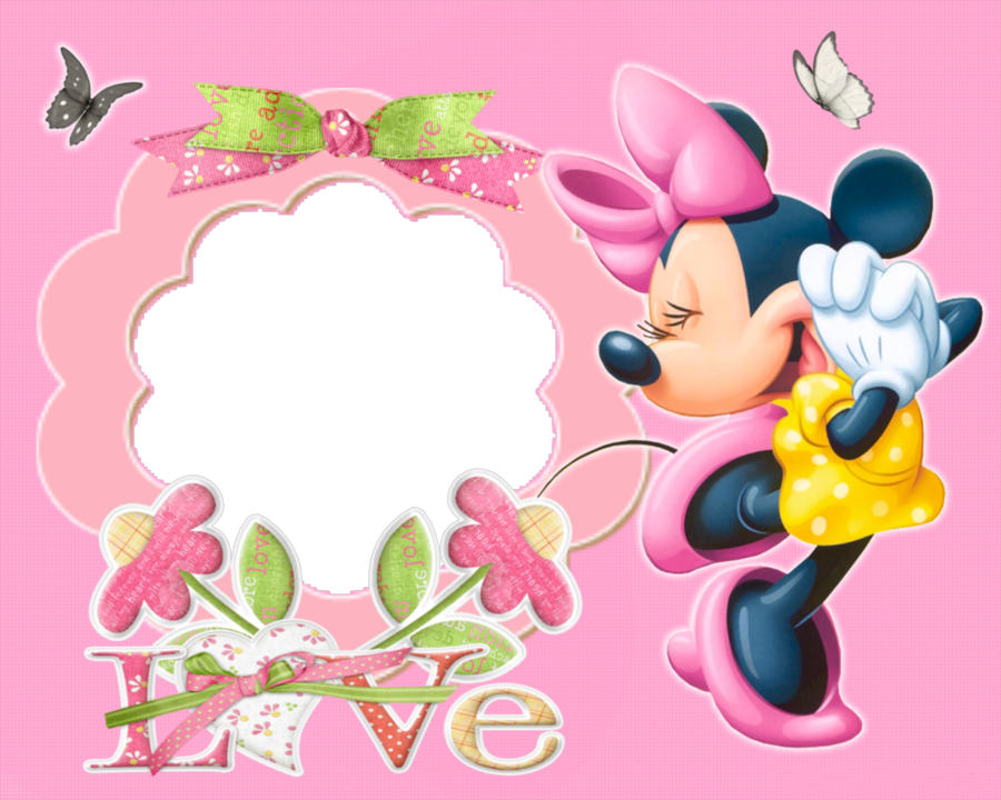 minnie mouse frame clipart Minnie Mouse Mickey Mouse Picture Frames