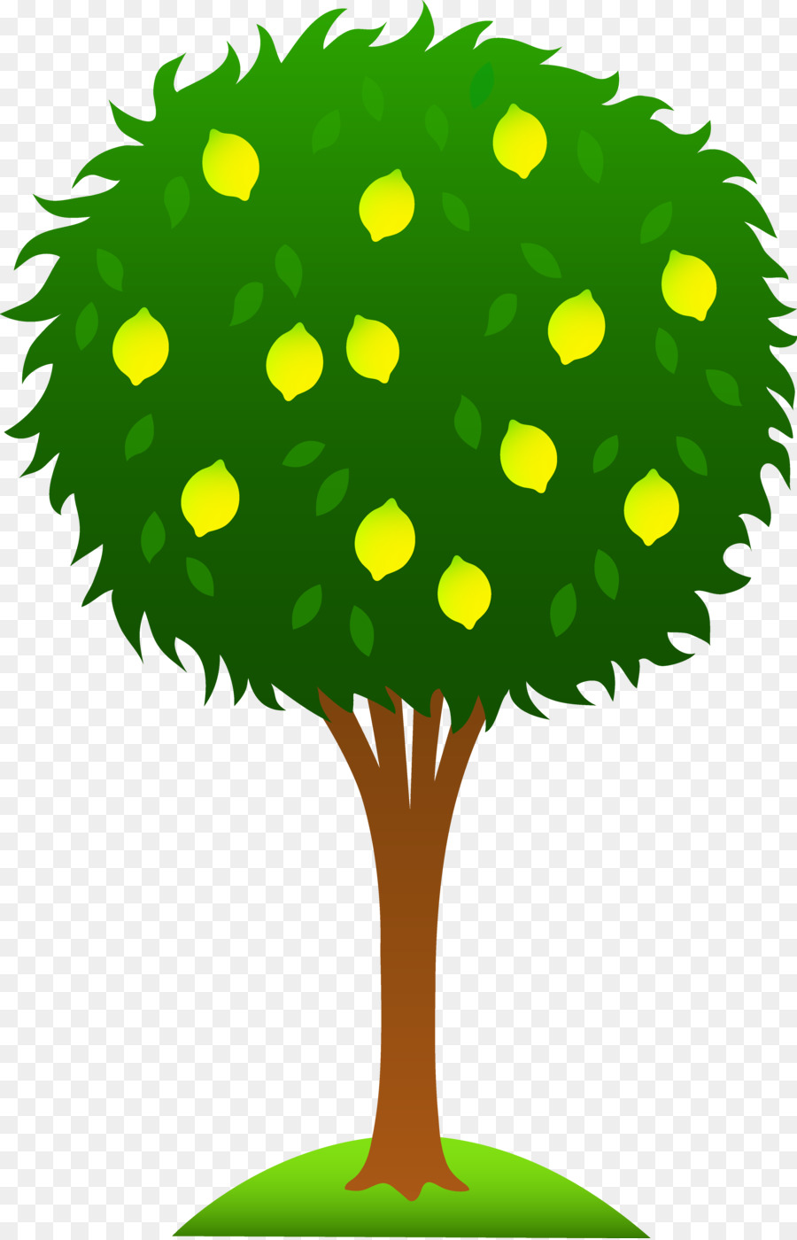 Mango Tree Cartoon Images
