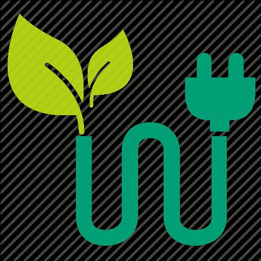Green Leaf Logo clipart - Electricity, Leaf, Tree