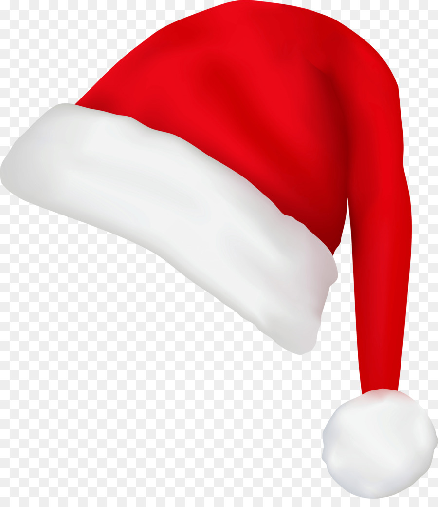 Christmas Hat Transparent Clipart.Santa Claus Hat Clipart Hat Cap Red Transparent Clip Art