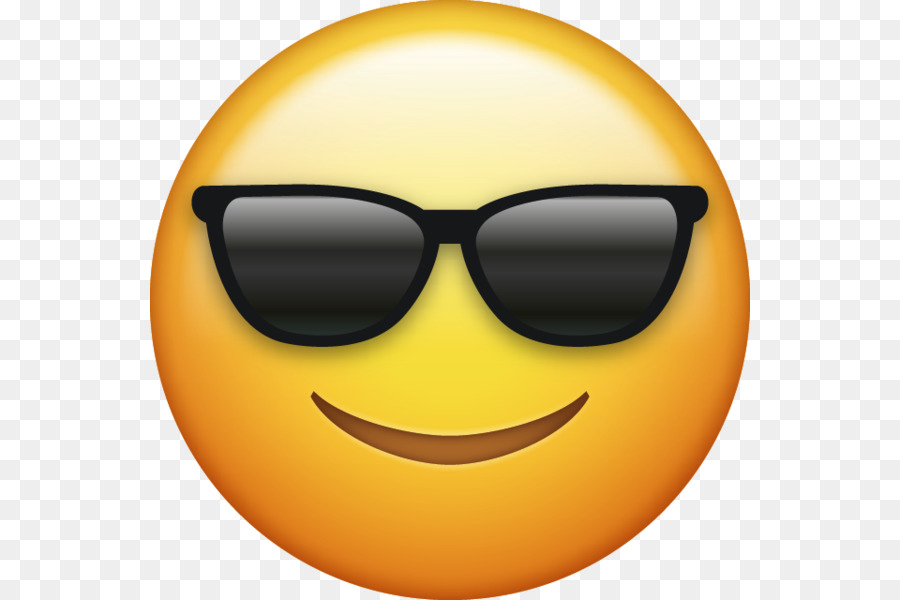 Apple smiley. Sunglasses emoji clipart emoticon
