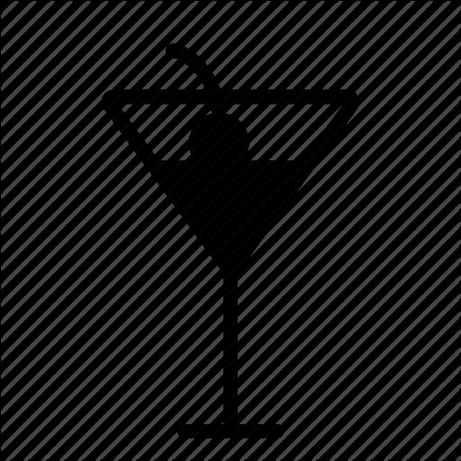 White Background Clipart Bar Cocktail Martini Transparent