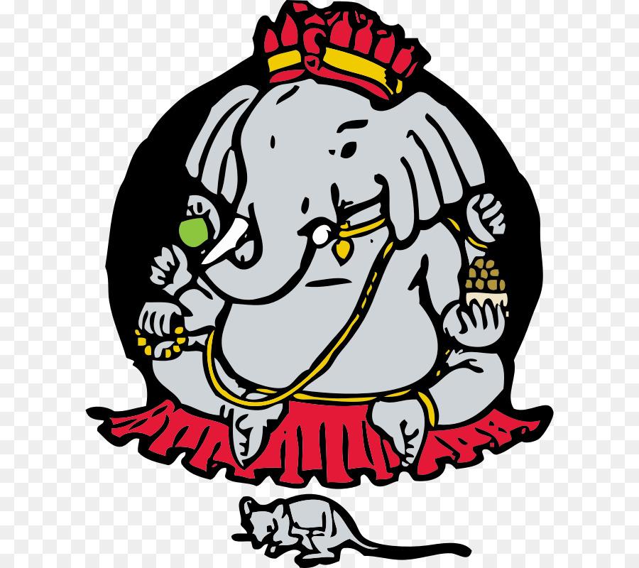 Ganesha Line Art Clipart Ganesha Art Product Transparent Clip Art