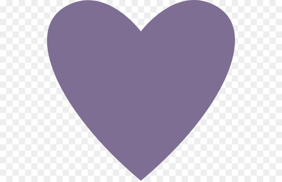 heart clipart Heart Purple