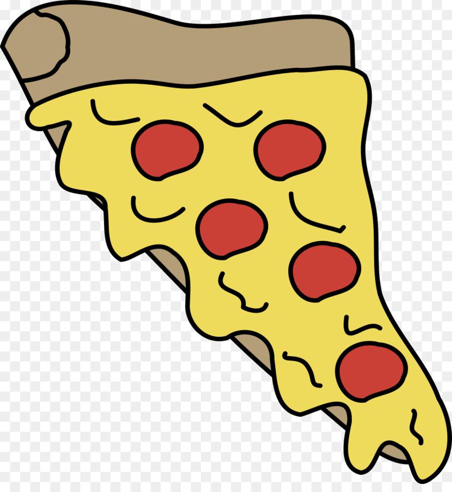 Pizza artwork. Junk food cartoon clipart